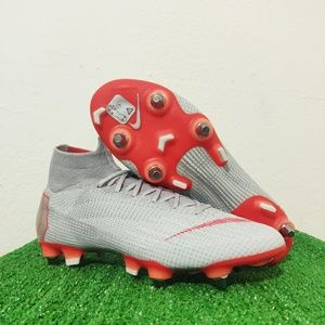 Nike Mercurial Superfly 6 Elite SG Pro Grey Cleats